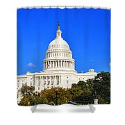 The United States Capitol Shower Curtain