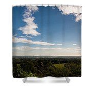 The Vale Of Kent Shower Curtain