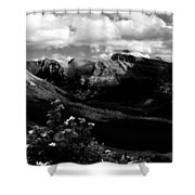 The Valley Shower Curtain
