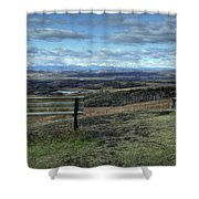 The View Point Shower Curtain