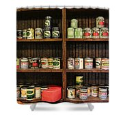 The Vintage Pantry At Vulcan Shower Curtain