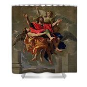The Vision Of St. Paul Shower Curtain