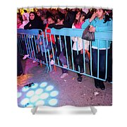 The Waiting Audience Shower Curtain