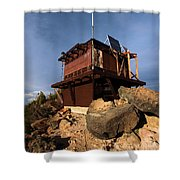The Watchman Tower Shower Curtain
