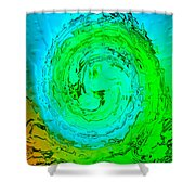 The Wave 2 Shower Curtain