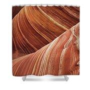 The Wave Sandstone Magic Shower Curtain