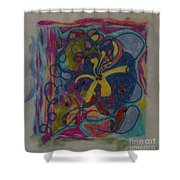 The Way Of The World Shower Curtain