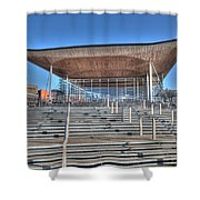 The Welsh Assembly Building Shower Curtain