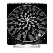 The Wheel That Ferris Built Shower Curtain