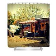 The Wild Wild West  Shower Curtain