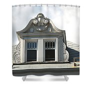 The Window Quebec City Shower Curtain