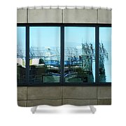 The Window To An Ever Changing World  Shower Curtain