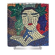 The Winery Shower Curtain