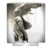 The Winged Victory - Paris Louvre Shower Curtain