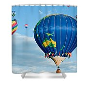 The World Aloft Shower Curtain