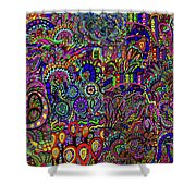 The World Largest Migraine Artwork Shower Curtain