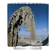 The Worlds Only Active Natrocarbonatite Shower Curtain