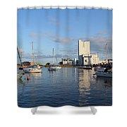 The Yacht Club Shower Curtain