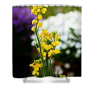 The Yellow Delight Shower Curtain