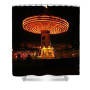 The Yo Yo  Shower Curtain