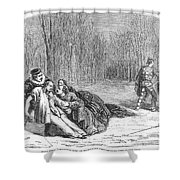 Theater: Duel, 1860 Shower Curtain