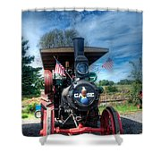 Then End Of The Day For The Case Shower Curtain