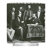 Theodor Billroth And Assistants Shower Curtain