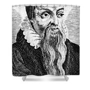 Theodore De B�ze (1519-1605) Shower Curtain