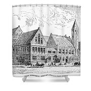 Theological Seminary, 1884 Shower Curtain