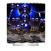 Theory Of Relativity Shower Curtain