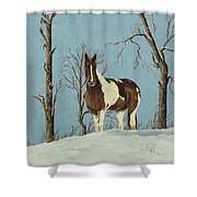 There Is A Season Shower Curtain