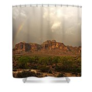 There's Gold At The End Of The Rainbow Shower Curtain