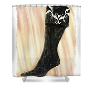 These Boots Are Made For Stompin' Shower Curtain
