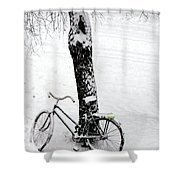 They Left Me Here Alone Shower Curtain