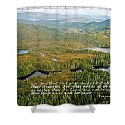 They That Wait 8995 Shower Curtain