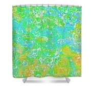 Thick Paint II Shower Curtain