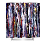 Thicket In Ice Shower Curtain