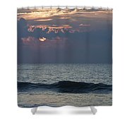 Thin Cloud Layer Shower Curtain