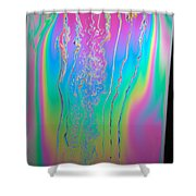 Thin Film Optical Interference Shower Curtain