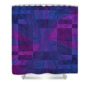 Think Shower Curtain by Tim Allen