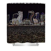This City Is Rockin' Shower Curtain
