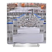 This Cold's For The Birds Shower Curtain
