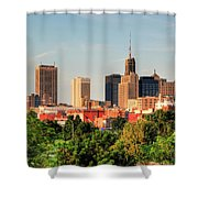 This Is My Town - Buffalo Shower Curtain