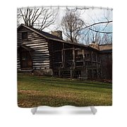 This Old Cabin Shower Curtain by Robert Margetts