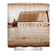 This Old Farm II Shower Curtain