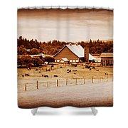 This Old Farm IIII Shower Curtain