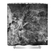 This View Of The Carina Nebula Shower Curtain