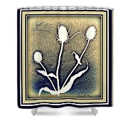 Thistles Grouping Shower Curtain