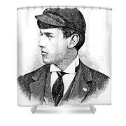 Thomas E. Burke Shower Curtain