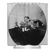 Thomas Edison, American Inventor Shower Curtain